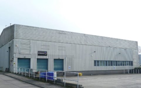 9,568 sq ft of industrial / warehouse space